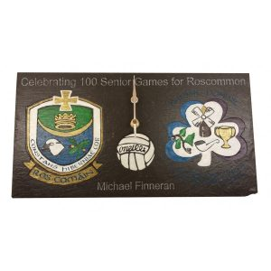 GAA Sports Crests Clock