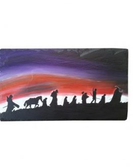Lord of The Rings Natural Slate Plaque