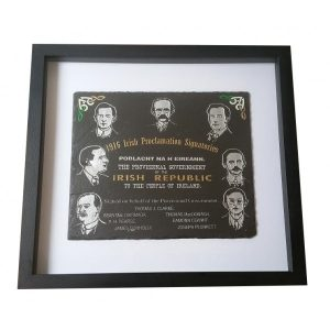 1916 Rising Natural Slate Commemoration Plaque